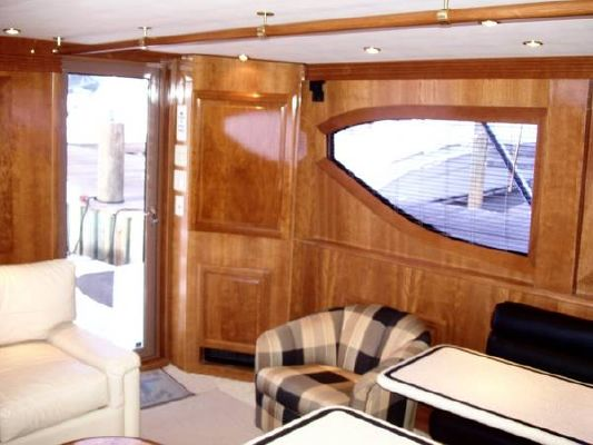 Hatteras 50 Convertible with Full Tower 2000 Hatteras Boats for Sale