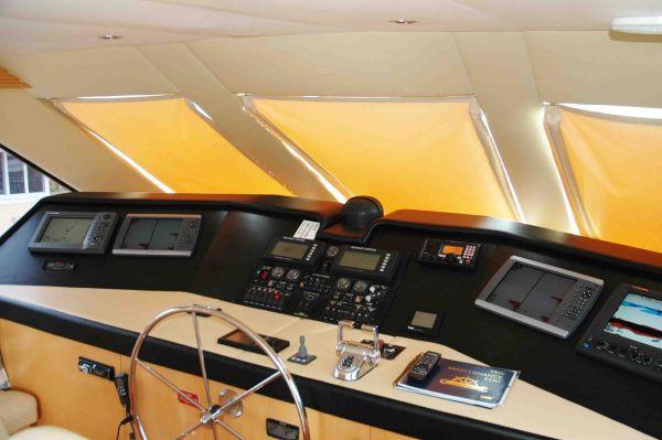 Hatteras SPORT FISHERMAN (Enclosed Bridge) 2000 Hatteras Boats for Sale