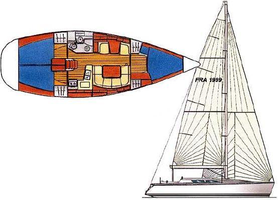 Boats for Sale & Yachts Jeanneau Sun Fast 40 2000 Jeanneau Boats for Sale