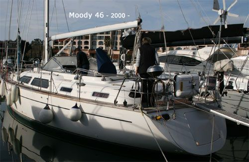 Marine Projects Moody 46 C/C Centre Cockpit 2000 All Boats