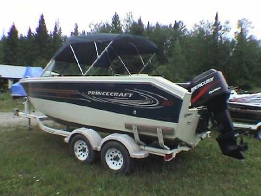 Boats for Sale & Yachts Princecraft Super Pro 210 2004 175 merc optimax OUTBOARD MOTOR,TANDEM TRAILER 2000 All Boats