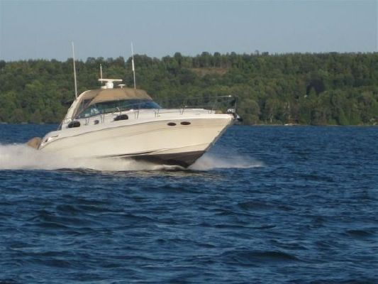 Sea Ray 410 Sundancer Freshwater Cat 3126 Diesels 2000 Sea Ray Boats for Sale