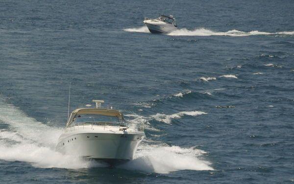 2000 sea ray 460 sundancer new canvas with polycarbonate windows  108 2000 Sea Ray 460 Sundancer New Canvas With Polycarbonate Windows