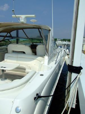 2000 sea ray 460 sundancer new canvas with polycarbonate windows  11 2000 Sea Ray 460 Sundancer New Canvas With Polycarbonate Windows