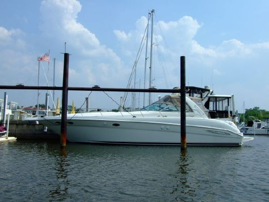2000 sea ray 460 sundancer new canvas with polycarbonate windows  3 2000 Sea Ray 460 Sundancer New Canvas With Polycarbonate Windows