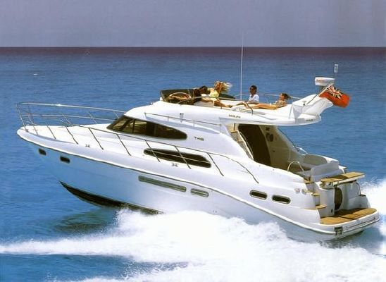 2000 sealine t46 motor yacht  1 2000 Sealine T46 Motor Yacht