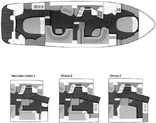 2000 sealine t46 motor yacht  5 2000 Sealine T46 Motor Yacht