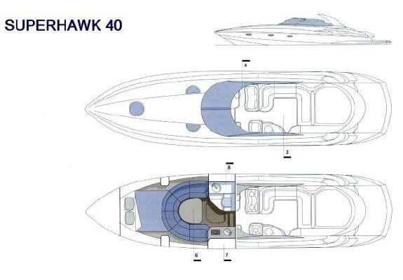 Sunseeker Superhawk 40 2000 Sunseeker Yachts