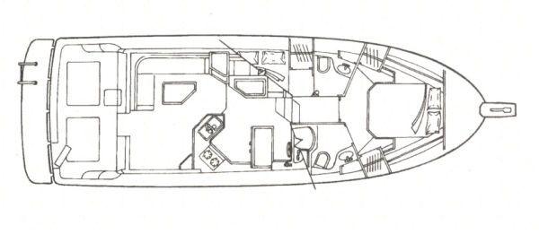 Bayliner 3988 Sedan 2001 Bayliner Boats for Sale