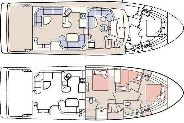 2001 bayliner 5788 pilot house motoryacht  3 2001 Bayliner 5788 Pilot House Motoryacht