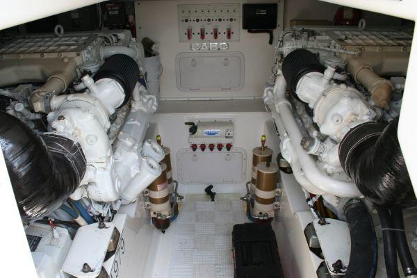 2001 cabo yachts 45 express  12 2001 Cabo Yachts 45 Express