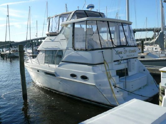 2001 carver 356 aft cabin motor yacht boats yachts for sale for Carver aft cabin motor yacht