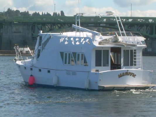 Custom Steel Pilothouse Trawler 2001 Pilothouse Boats for Sale