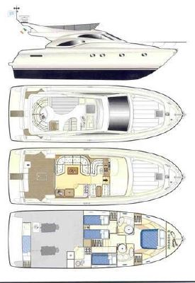 Ferretti 43 2001 All Boats