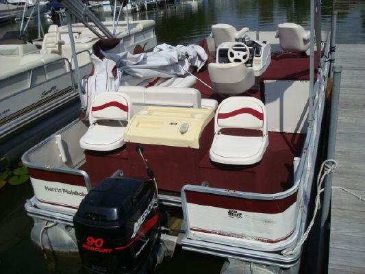 Harris FloteBote pontoon 220 Fisherman 2001 Pontoon Boats for Sale