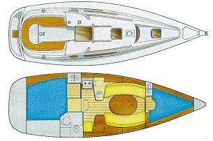 2001 jeanneau sun odyssey 322  10 2001 Jeanneau Sun Odyssey 32.2