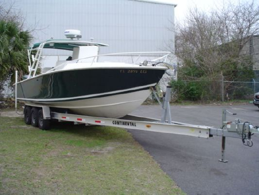 2001 Jupiter 31 Cuddy Cabin Center Console Boats Yachts