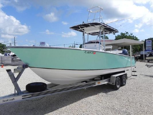 Sea Craft Open Fisherman 25 2001 Seacraft Boats for Sale