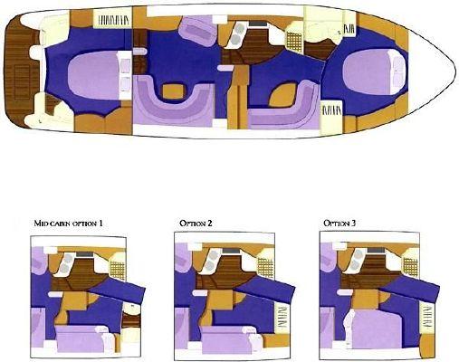 2001 sealine t46 motor yacht  26 2001 Sealine T46 Motor Yacht