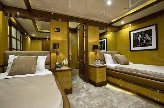 Benetti Displacement motor yacht 2002 All Boats