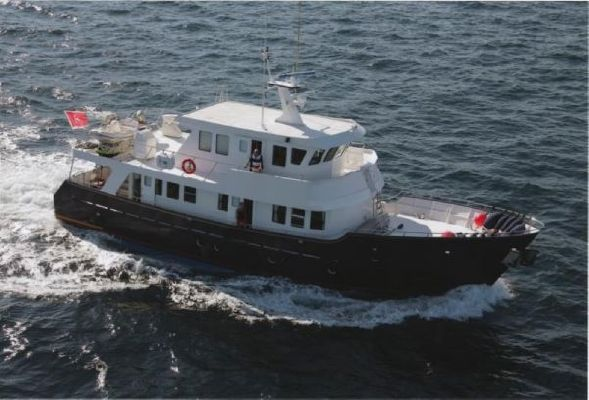Cape Horn 75 Trawler 2002 Cape Horn Boats for Sale Trawler Boats for Sale