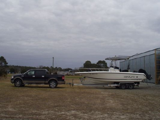 Century 2300 W * TRAILER 2002 All Boats
