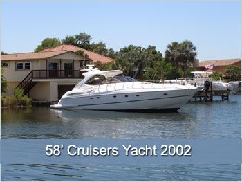 CRUISERS YACHT 5730 Express 2002 Cruisers yachts for Sale