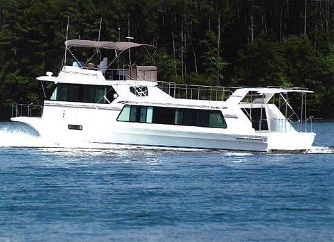 Boats for Sale & Yachts Harbor Master 52 WIDE BODY 2002 Egg Harbor Boats for Sale