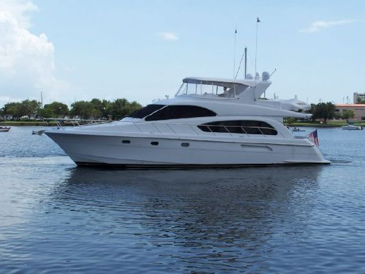 2002 hatteras 63 raised pilothouse motor yacht  1 2002 Hatteras 63 Raised Pilothouse Motor Yacht