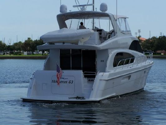 2002 hatteras 63 raised pilothouse motor yacht  5 2002 Hatteras 63 Raised Pilothouse Motor Yacht