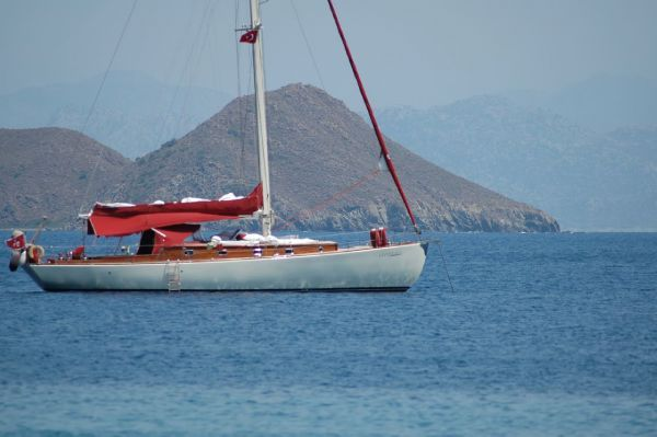 Iroko epoxy planking 2002 All Boats