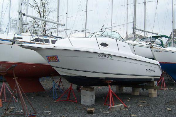 Boats for Sale & Yachts Sailfish 234 Walkaround 2002 All Boats Walkarounds Boats for Sale