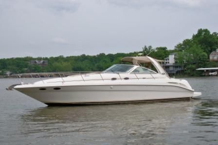 2002 sea ray 410 express cruiser  1 2002 Sea Ray 410 Express Cruiser