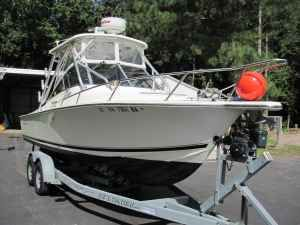 Albemarle 248XF 2003 Albemarle Boats for Sale