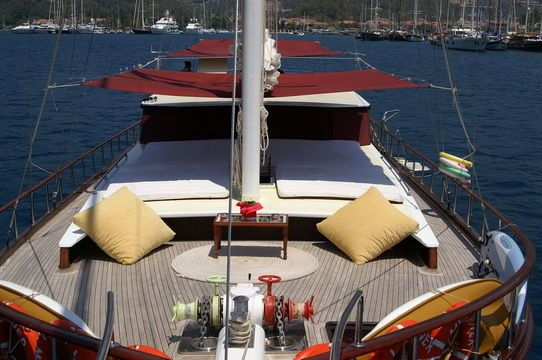 gulet Traditional Motorsailer 2003 Ketch Boats for Sale Sailboats for Sale