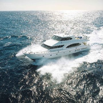 HARGRAVE Capri Sky Lounge, Raised Pilothouse 2003 Pilothouse Boats for Sale