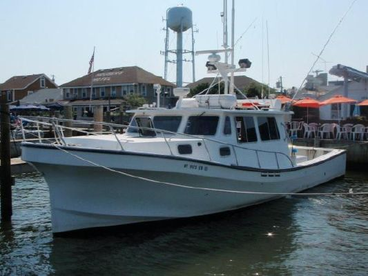 2003 magna commercial sportfish downeast lobster boats for Downeast fishing gear