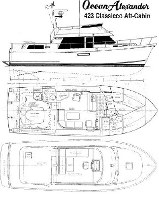 Ocean Alexander 423 Classicco 2003 Ocean Alexander Boats
