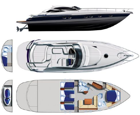 Boats for Sale & Yachts Pershing 52' 2003 All Boats
