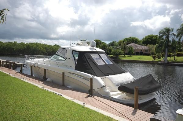 Sea Ray 55 Sundancer Fresh Water Vessel 2003 Sea Ray Boats for Sale