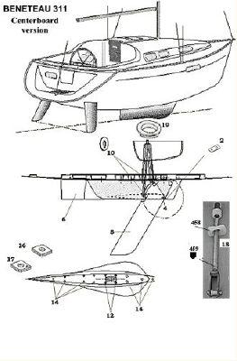 2004 beneteau swing keel 311  7 2004 Beneteau Swing Keel 311
