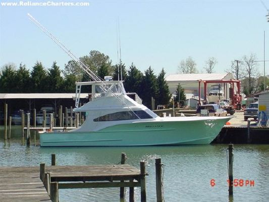 CROWN MARINE 51 FT Cold Molded Sportfisherman 2004 Crownline Boats for Sale Sportfishing Boats for Sale