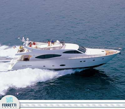 Ferretti 760 2004 All Boats