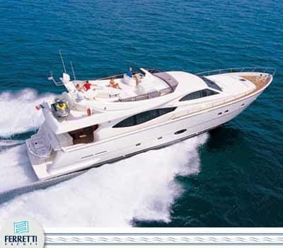 Ferretti 760 2004 All Boats