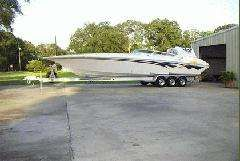 Fountain 38 Lighting 2004 Fountain Boats for Sale