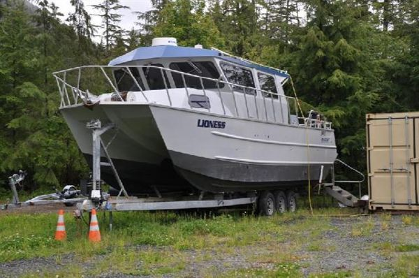 2004 maxweld maxcat catamaran boats yachts for sale for Catamaran fishing boats for sale