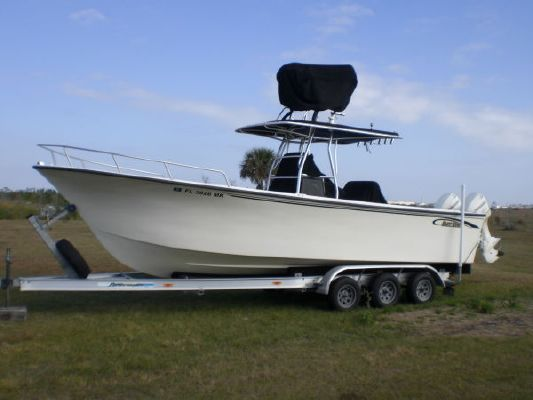 2004 maycraft center console offshore fishing boat for Off shore fishing boats