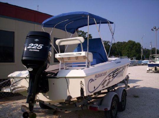 2004 paramount 21 superfisherman w mercury 225hp trailer for Paramount fishing boat