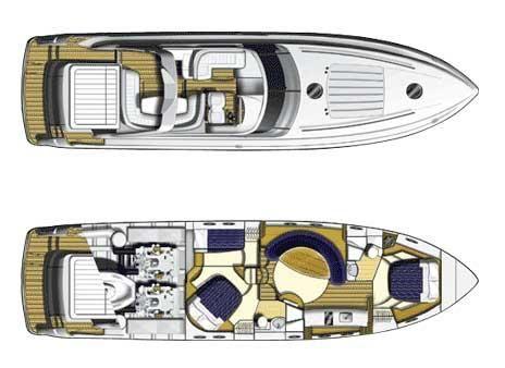 Boats for Sale & Yachts Princess V58 2004 Princess Boats for Sale