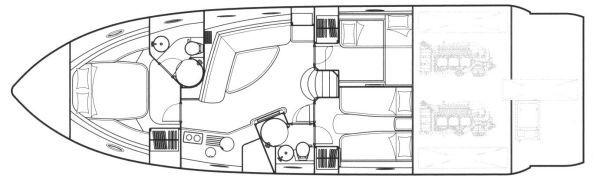 Boats for Sale & Yachts Sunseeker Portofino 53 MK1 HT 2004 Sunseeker Yachts